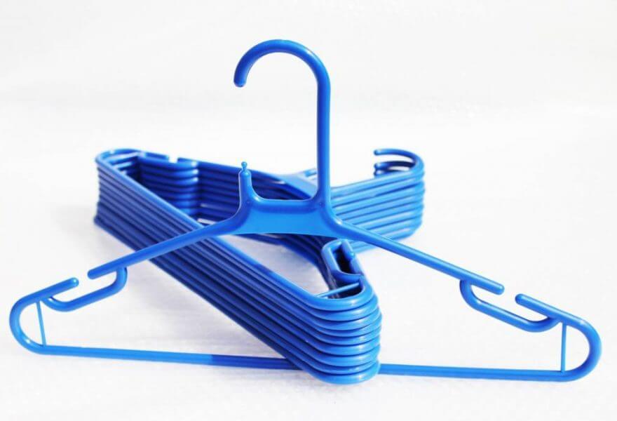 Blue Super Jumbo Hangers