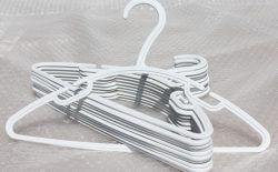 White Half Moon Baby Hanger