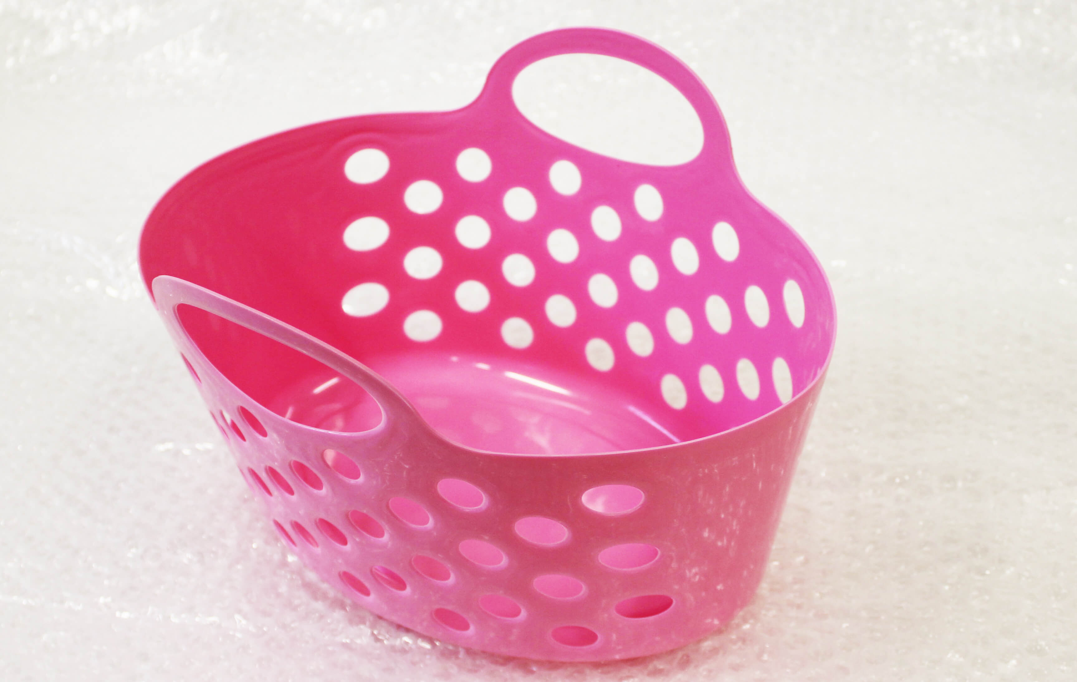 Plastic Baskets With Dual Handle Storage Baskets Baby