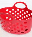 Pink Plastic Basket
