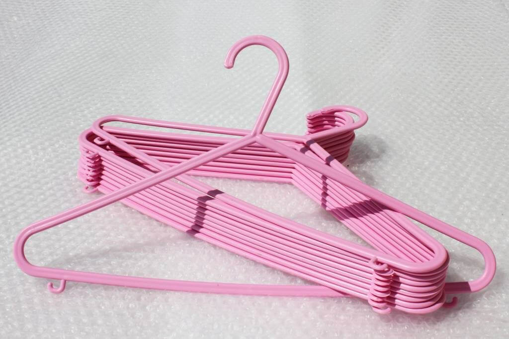 Pink Multi purpose hangers