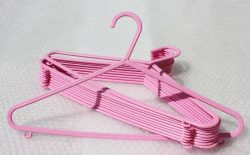 Pink Multi purpose hangers