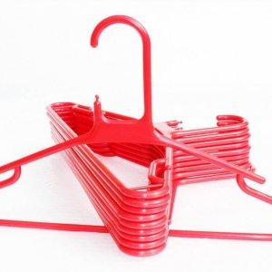 Red Super Jumbo Hangers
